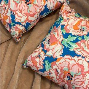 Lilly Pulitzer Custom Pillows - Set of 2